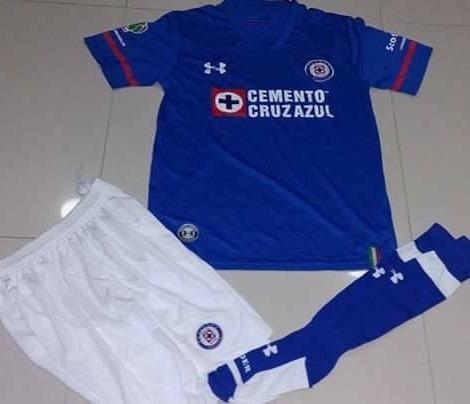 Uniformes De Futbol Economicos Completos Cruz Azul Psg -   120.00 en Mercado  Libre 668e50892247a