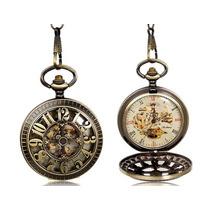 Reloj Relojes De Bolsillo De Cuerda Excelente Calidad 1