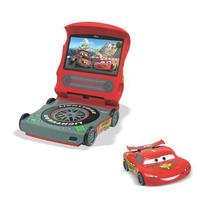 Dvd Player Portátil Disney Carros Tela De 7 Brinde Cartao 4g