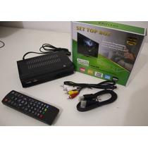 Conversor Tv Digital Com Função Pvr Grava Tv Frete Gratis