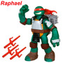 1 Boneco Tartarugas Ninja Flingers Lança Armas Br156