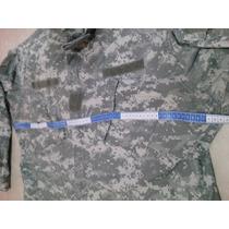 Uniforme Militar Us Army Original Acu Digital Gris X L