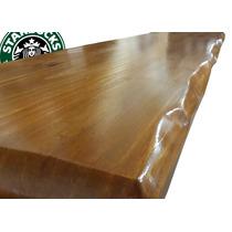 Tabla Barra Desayunador Mesa Mesada Maciza Tipo Starbucks