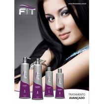 Kit Escova Progressiva Fit Cosmetics Passo 1 E 2 De 1 Litro