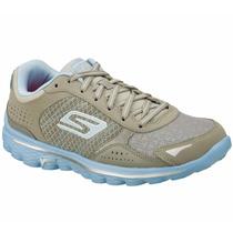 Zapatos Skechers Gowalk 2-flash Para Damas 13960-gybl