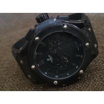 Relógio H Big Bang King Quartz Safira Qualidade Superior
