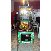 Flipper Pinball Teed Of Impecable Super Vistoso