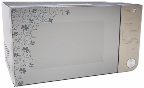 Horno de microondas daewoo 1 1 p3 acabado espejo con - Microondas de diseno ...