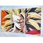 Dragon Ball Z - Goku - Cuadros Trípticos Modernos- Varios
