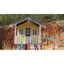 Casinha De Boneca Com Playground Completa