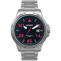 Relógio Orient Análogo Aço Esportivo Vermelho Mbss1195a P2sx