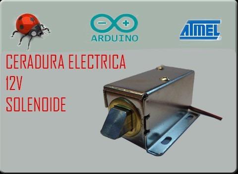 Cerradura electrica cerrojo electrico solenoide arduino en mercado libre - Cerraduras electronicas para casa ...