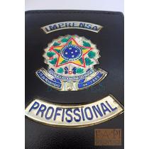 Porta Cheques Notas Imprensa Profissional Frete Grátis C59p