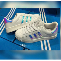 Adidas Super Star Tornasol Reflectivas Original
