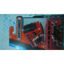 Matchbox Autobus Dos Pisos Ingles Londinense Rojo