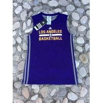 Jersey Los Angeles Lakers Doble Vista Infantil 2015 Adidas