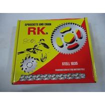 Kit Relação Biz 125 Marca Rk