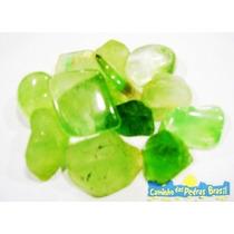 Fluorita Verde Unid. 1cm Pedra Gema Natural Polida Coleção