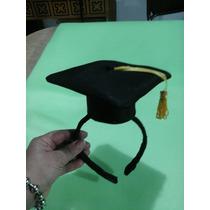 Sombreritos Graduacion Cotillon Vincha X10 Unid.
