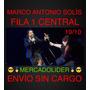 Entradas Marco Antonio Solís Fila 1 Vip Central +enviogratis