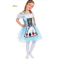 Fantasia Infantil - Kit Festa Alice No País Das Maravilhas