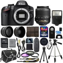 Nikon D3200 + Kit El Mas Completo De Todos!