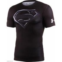 Remera Under Armour Alter Ego Superman Black