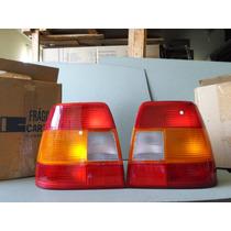Lanternas Traseiras Gm Monza 91 96 Original Mcarto Tricolor