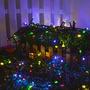 Luces De Navidad A Energía Solar 50 Leds Multicolor 5 M