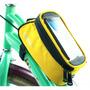 Bolsa Maletin Bicicleta Celular Roswheel Amarillo D1027