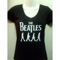Polera The Beatles.mujer.