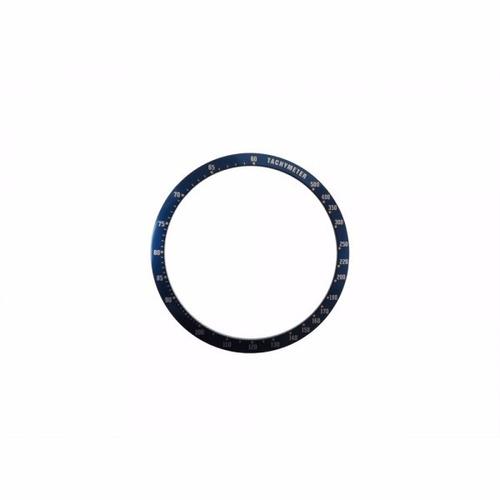 14a4e86c5da Bezel Decalque Seiko Chrono 6138-0030 Aro Azul - R  99