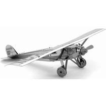 Rompecabezas 3d Avion Spirit Saint Louis Metal Fascinations