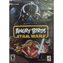 Angry Birds Star Wars Pc Cd-rom Nuevo Original En Ingles