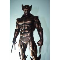 Wolverine Coleção Cobre - Estátua Em Resina
