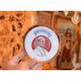 Plato De Porcelana Con Decoración Del Papa Pablo Vi.