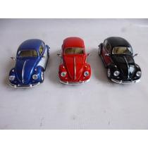 Volkswagen Sedan Escala 1/24 1967 Autos Coleccion 3 Autos
