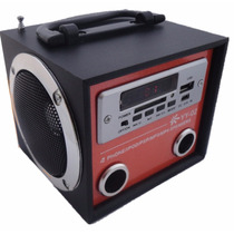 Caixa De Som Portátil Yy 02 Mp3 Entrada Usb Pen Drive Rádio