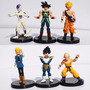 Bonecos Dragon Ball Goku Frezza Kuririm Android18 Cell Cada