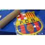 Calcomania Gigante!! Del Escudo Del Barcelona Y Rea Madrid