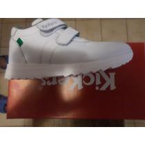 Zapatos Kickers Blanco Escolares