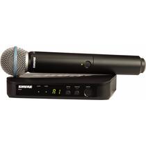 Microfone Sem Fio Shure Blx24/beta58 100% Original