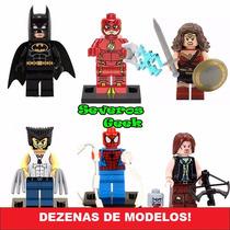 Lego Herois Marvel Dc Harry Pokemon Liga Vingadores
