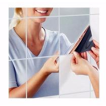 Adesivo Espelhado Espelho De Azulejo 15x15 Banheiro Cozinha