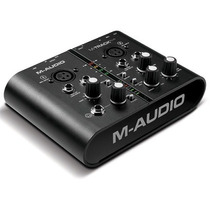 Interface M-audio M-track Plus + Pro Tools Express + Ilok 2
