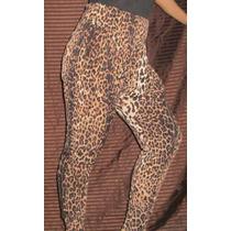 Remate Pantalones Dama Animal Print, De Vestir, Casual