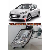 Farol De Milha Peugeot 308 Ano 2011 2012 2013 2014 Esquerdo