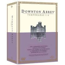 Downton Abbey Boxset Con La Temporada 1 2 3 4 5 Y 6 En Dvd