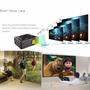 Mini Proyector Led 2000 Lum. Max. 1080 P. Hd, Cine, Teatro