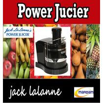 Extractor Power Jucier Jack Lalanne Original Silencioso Nuev